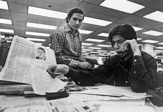 In May 1972 The Washington Post Reporters Carl Bernstein And Bob Woodward Were Assigned What Seemed Like A Fairly Boring Story